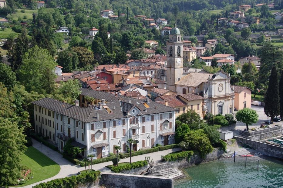 Comer See Bellagio Luxus Wohnung Direkt am See