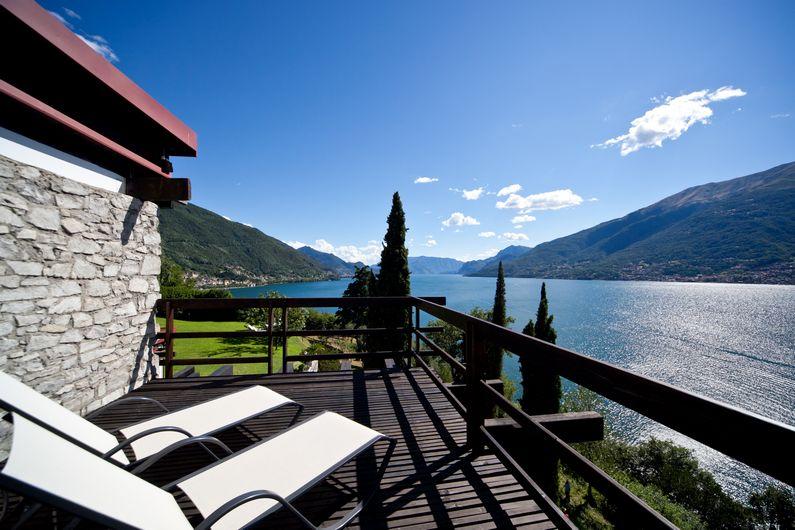 Comer See Colico Luxus Villa mit Seeblick