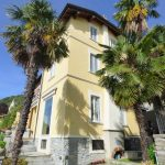 Comer See Moltrasio Villa Direkt Am See mit Garten