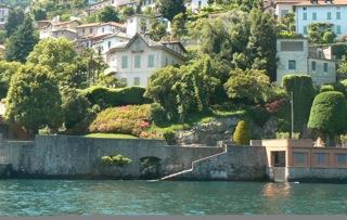 Comer See Cernobbio Nachbarschaft Periodische Villa Direkt am See