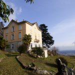 Immobilien Comer See Brunate Luxus Villa mit Depandance und Seeblick
