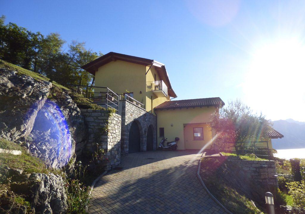 Comer See Menaggio Villa mit Grundstück und Seeblick