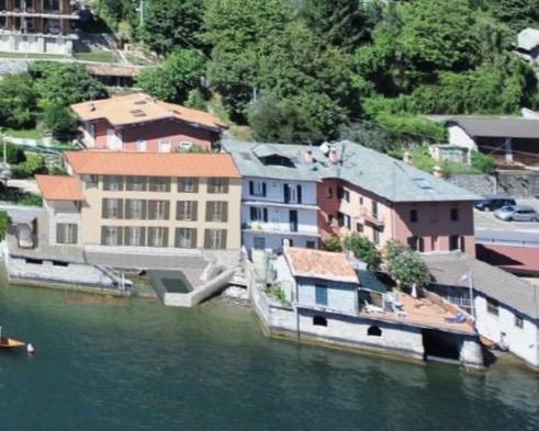 Comer See Laglio Wohnung Direkt am See mit Bootshaus und Seeblick
