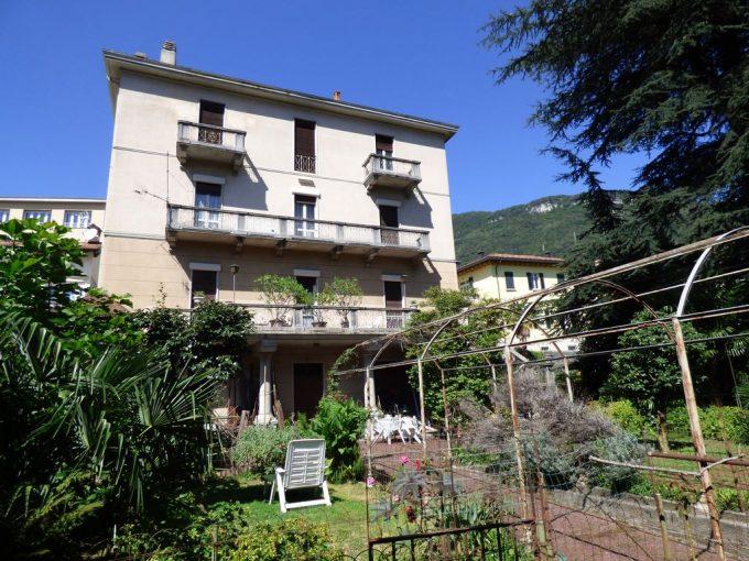 Comer See Gravedona ed Uniti Villa mit Seeblick Garden