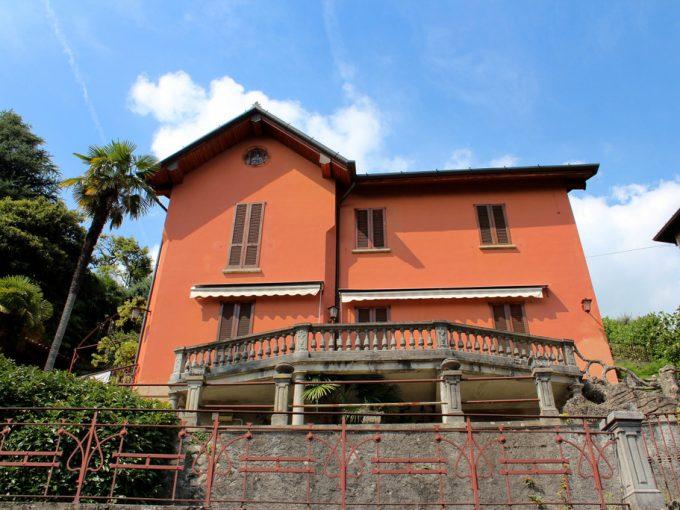 Comer See Cernobbio Villa der ersten des '900 mit Seeblick