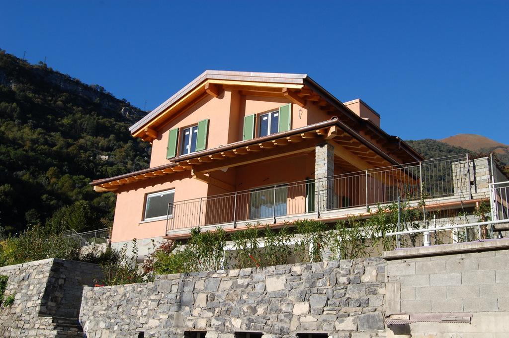 Comer See Ossuccio Villa Garten und Seeblick