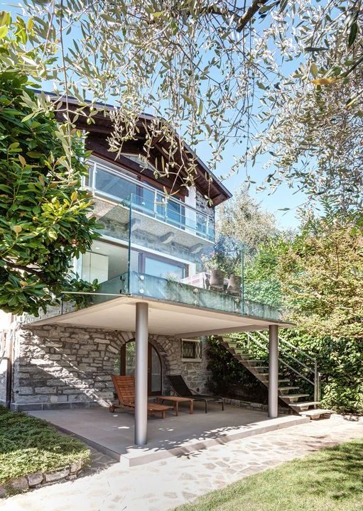 Immobilien Comer See Bellagio Luxus Villa mit Bootshaus