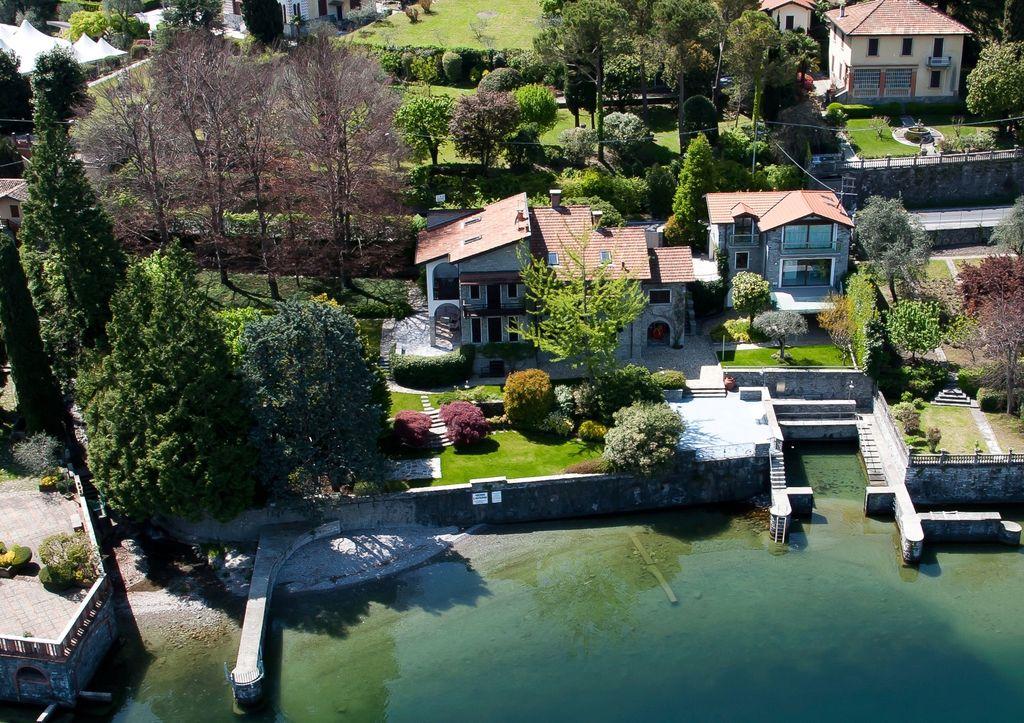 Comer See Bellagio Luxus Villa mit Bootshaus