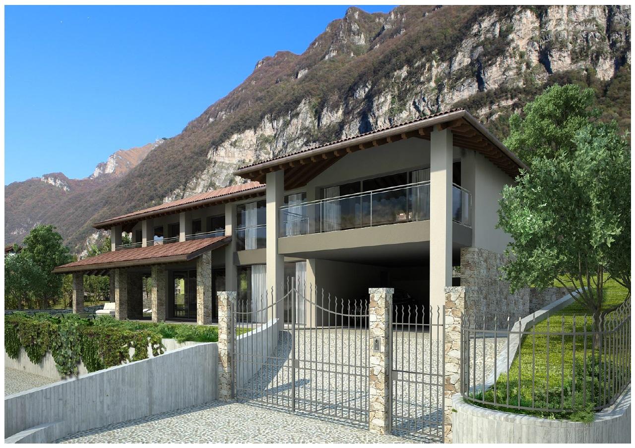 Comer see tremezzo villa mit schwimmbad immobilien comer see for Villa moderna