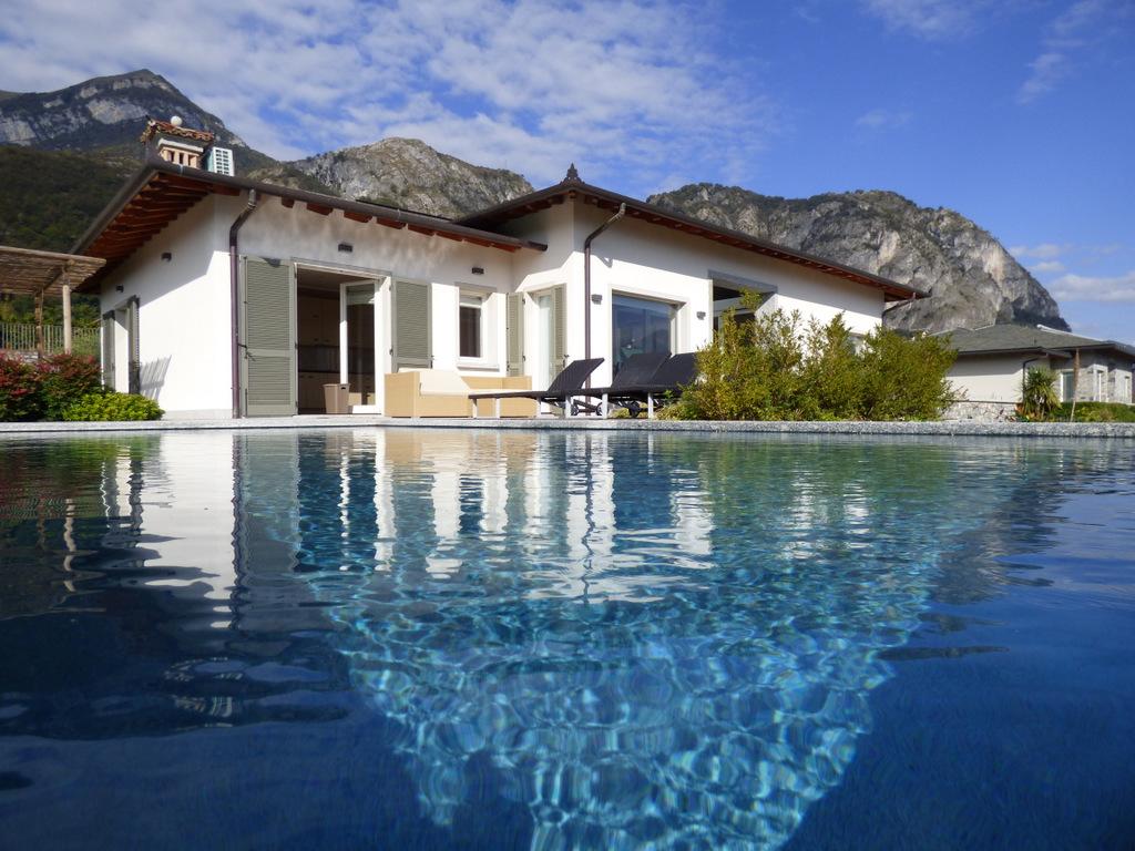 Comer See Tremezzo Modernen Villa mit Seeblick
