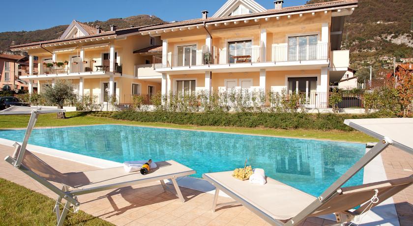Comer See Lenno Wohnung mit Terrasse