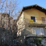 Comer See Gravedona Haus in den Hügeln mit stein keller