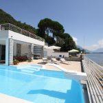 Comer See Gravedona ed Uniti Villa mit Bootshaus direkt am See mit seeblick