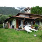 Comer See Lenno Villa mit Garten