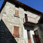 Comer See Lenno Haus mit Blick auf den See mit Balkon