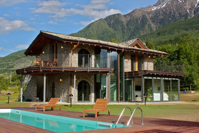Comer See Colico Luxus Villa mit Schwimmbad