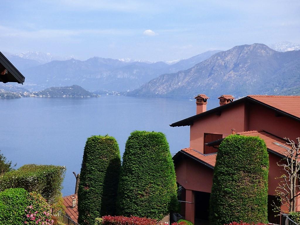 Comer See Wohnung Argegno mit Garten und See Blick