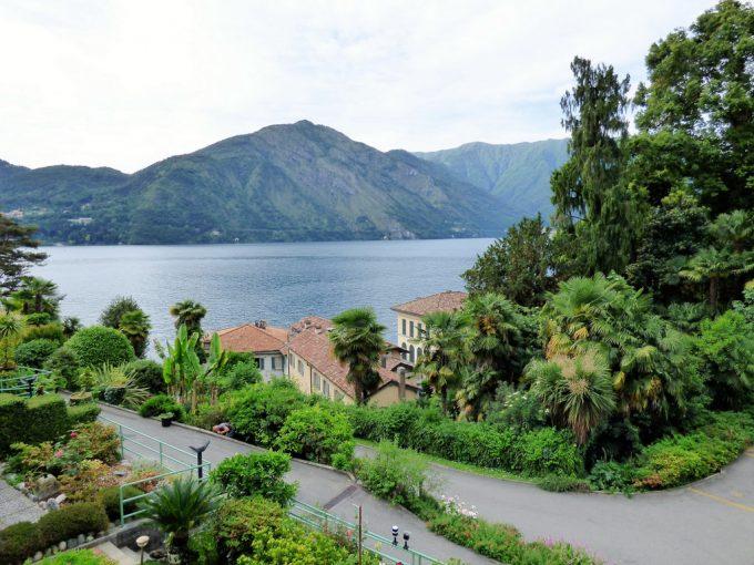 Comer See Tremezzo Blick auf den See