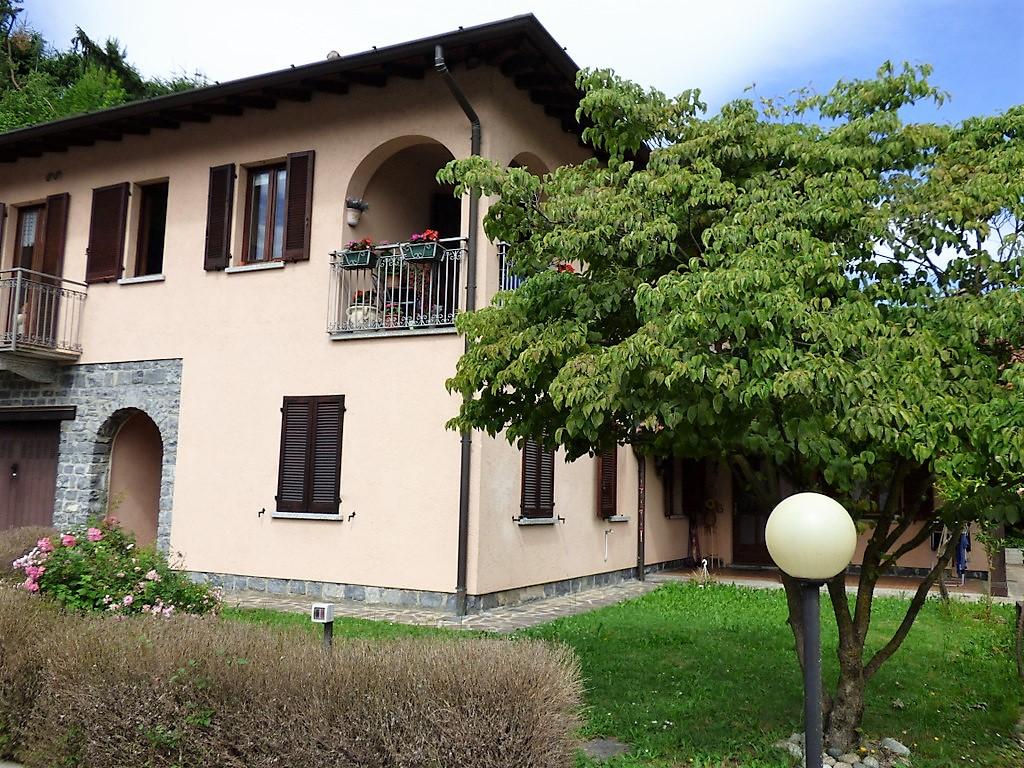 Comer See Wohnung Menaggio mit Garten und Panoramablick