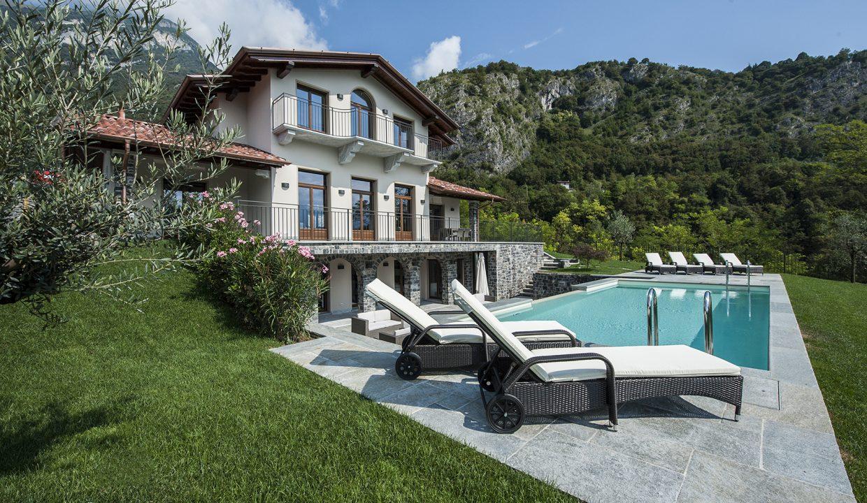 Tremezzo freistehende Villa mit Schwimmbad, Garten und Seeblick
