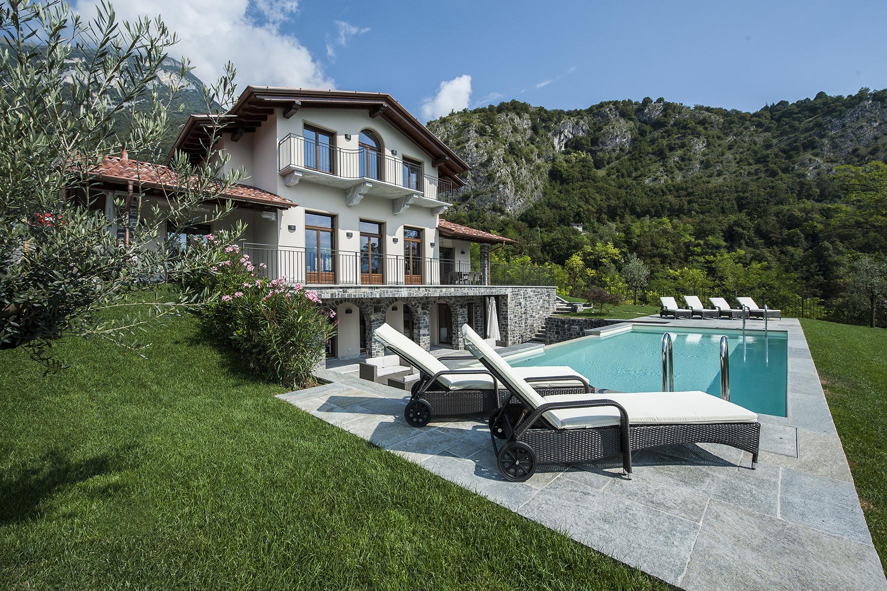 Comer See Tremezzo freistehende Villa mit Schwimmbad, Garten und Seeblick