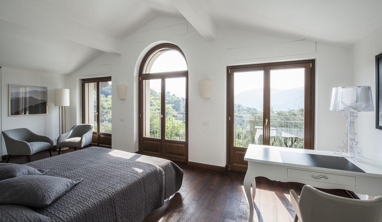 Comer See Tremezzo freistehende Villa - Schlafzimmer