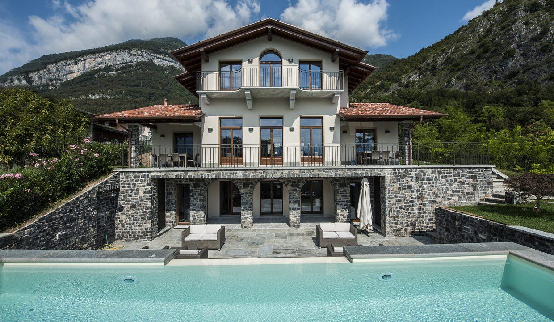 Comer See Tremezzo Villa mit Terrasse, Garten und Seeblick