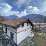 Comer See Sorico Haus mit Land sonnig