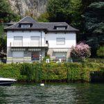 Comer See Pognana Lario Luxus Villa mit Bootshaus schließen Como