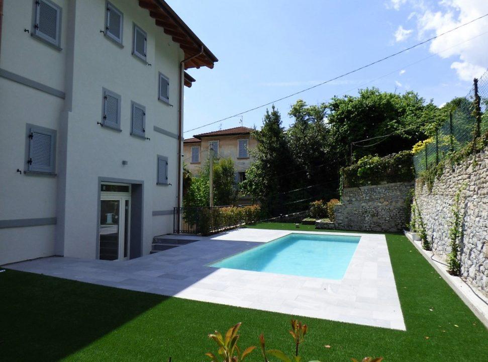 Comer See Mezzegra Wohnungen - Garten uns Schwimmbad