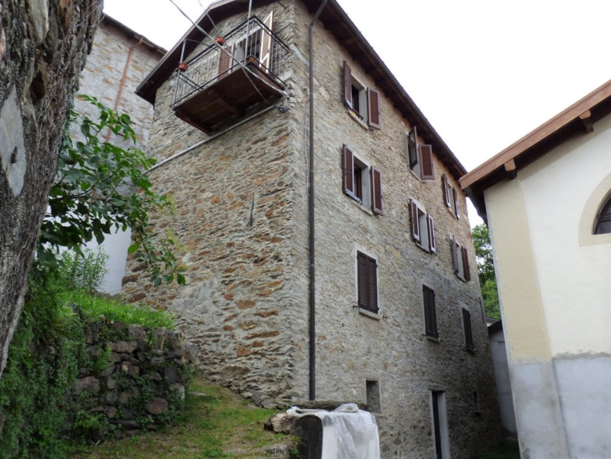 Comer See Rustikal renoviert San Siro mit Balkon und Seeblick