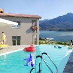 Comer See Domaso Wohnung Residenz mit Schwimmbad garage