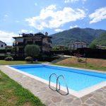 Comer See Wohnung Tremezzina mit Pool und Garten