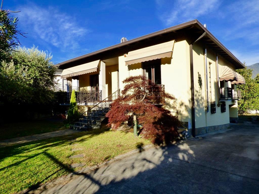 Comer See Colico Unabhängige Villa mit Garten