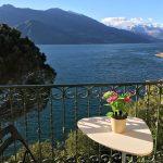 Comer See Varenna Wohnung Direkt am See mit balkon