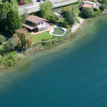 Comer See Abbadia Lariana Villa Direkt Am See mit Seeblick