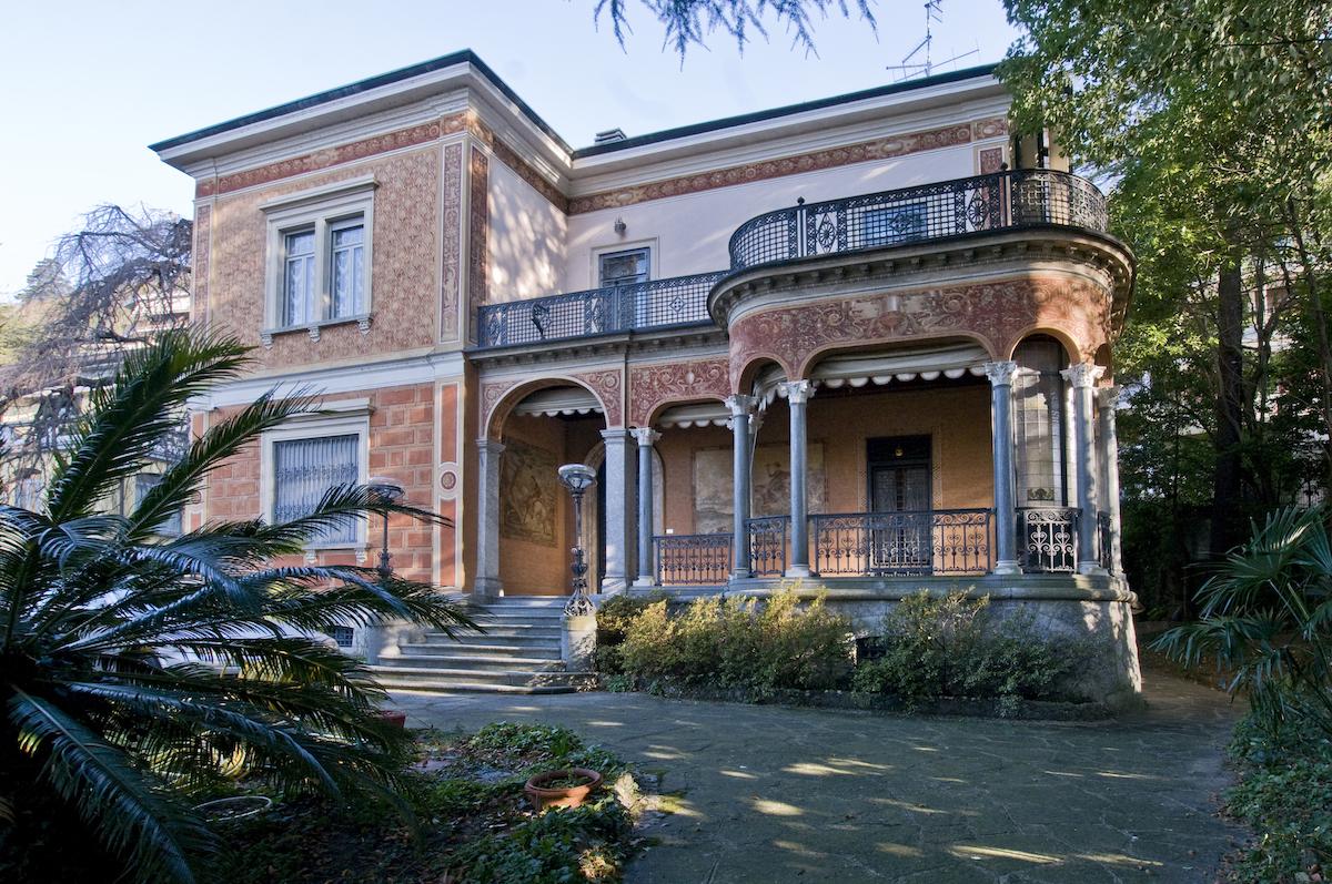 Comer See Villa Liberty Como Zentrum mit Park