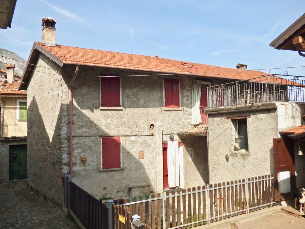 Comer See Pianello del Lario Haus mit Seeblick