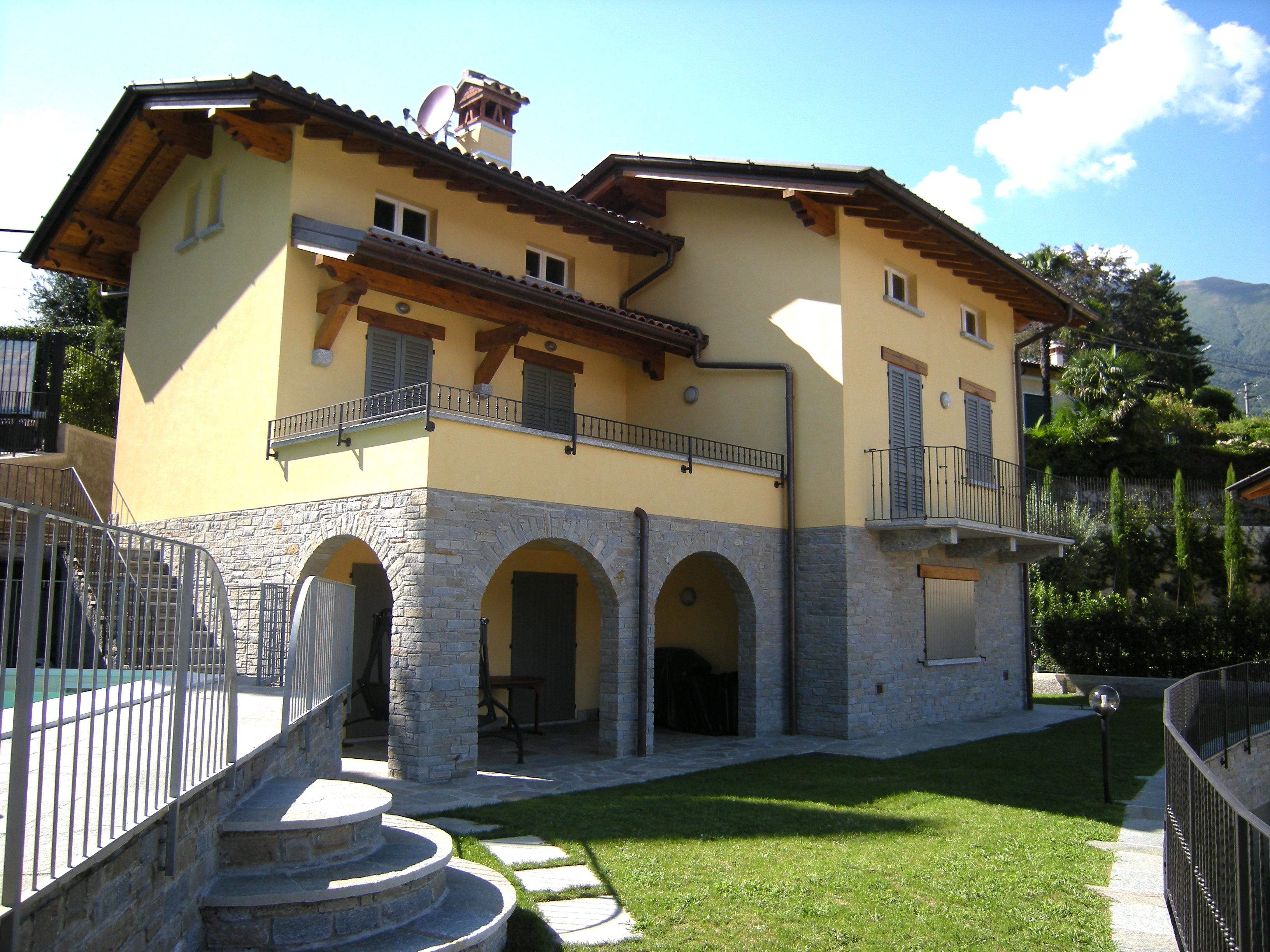 Comer See Menaggio Villa mit Schwimmbad und Seeblick