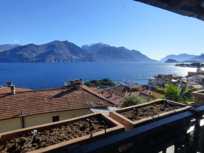 Comer See Menaggio Wohnung - Terrasse und Seeblick