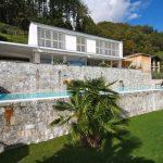 Comer See Cremia Villa mit Schwimmbad Seeblick