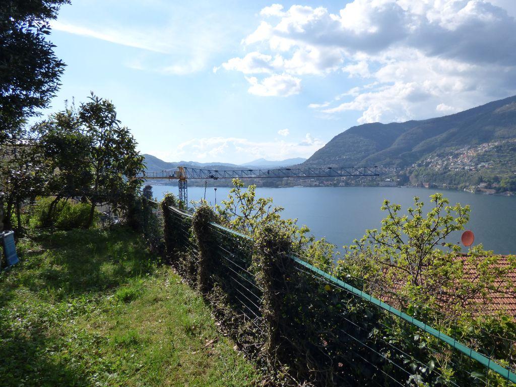 Comer See Blevio Haus mit Terrasse und Seeblick