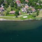 Comer See Domaso Wohnung mit Veranda und Zugang zum See sonnig lage