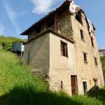 Comer See Hügeliger Dongo Rustico mit Seeblick mit privat garten