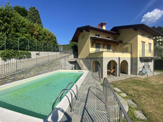 Comer See Menaggio Villa mit Schwimmbad und Seeblick - villa