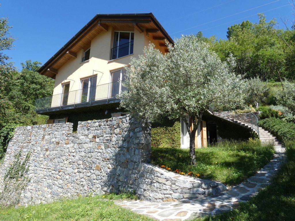 Comer See Gera Lario Villa mit Seeblick und Garten