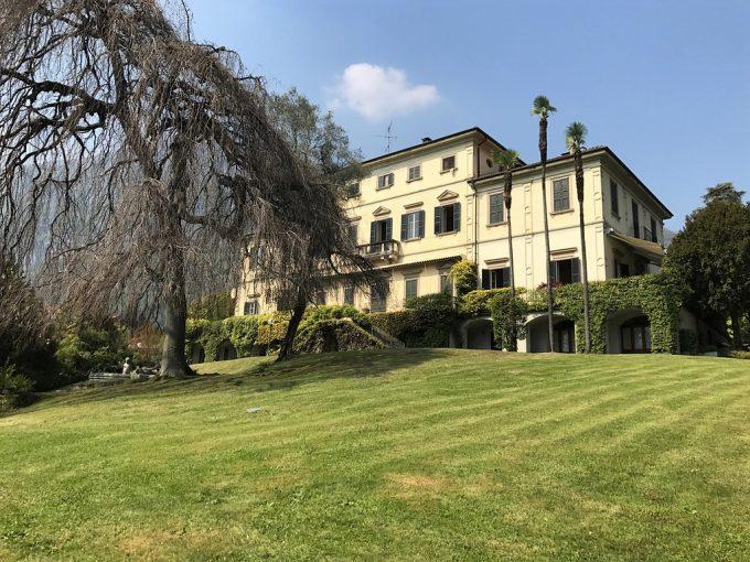 Comer See Tremezzina Wohnung in historischen Villa mit Seeblick
