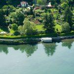 Comer See Colico Luxus Villa mit Bootshaus 500 mt von zentrum