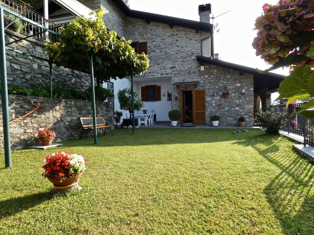 Comer See Gera Lario Wohnung mit Garten