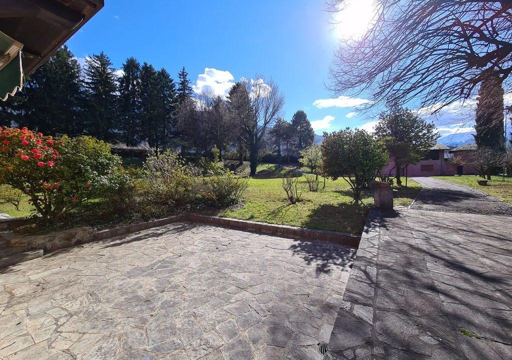 Comer See Colico Villa mit Park